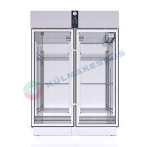 Klaasuksega külmkapp PRO C1400