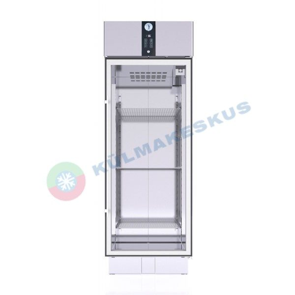 Klaasuksega külmkapp PRO C500