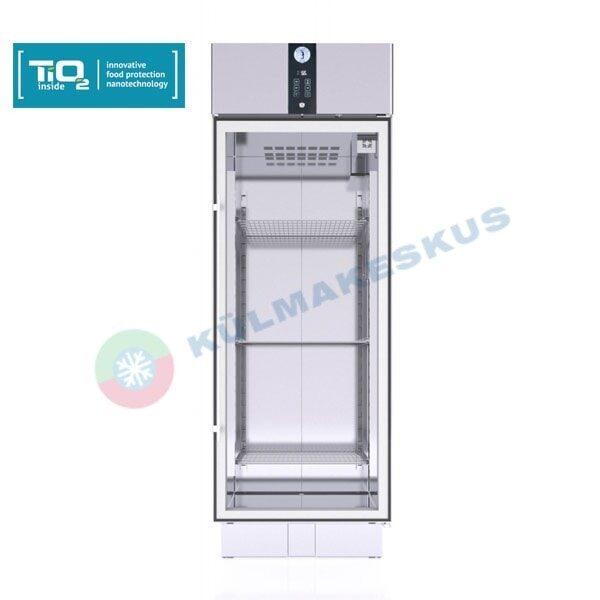 Klaasuksega külmkapp PRO C500Tio2