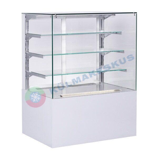 Kondiitrilett Cube Transparent, 1.5 m