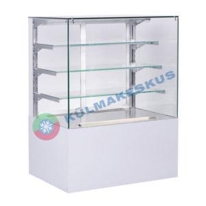 Kondiitrilett Cube Transparent, 0.6 m