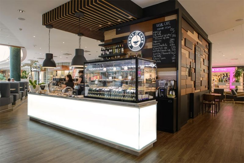 Reval Cafe, Viru Keskus
