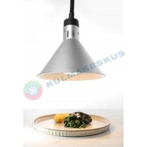Lamp toidu soojendamiseks, hõbedane, 273869