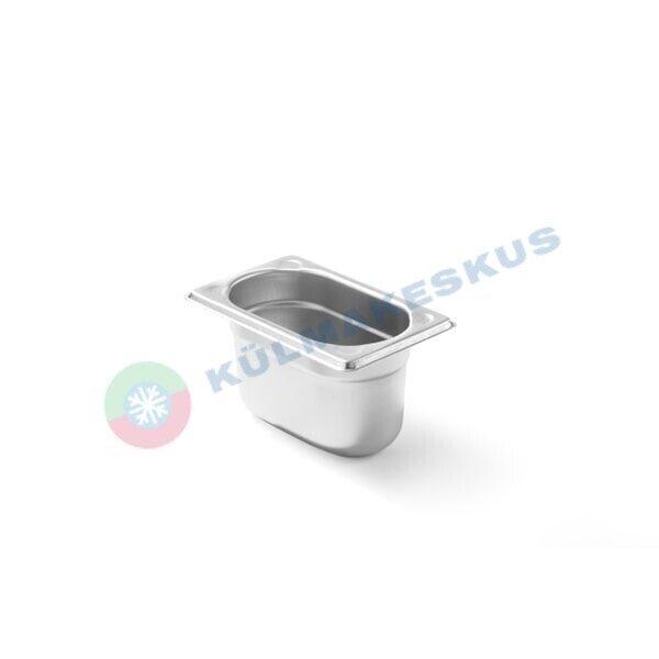 GN 1/9, h 65 mm, roostevaba teras, 806722