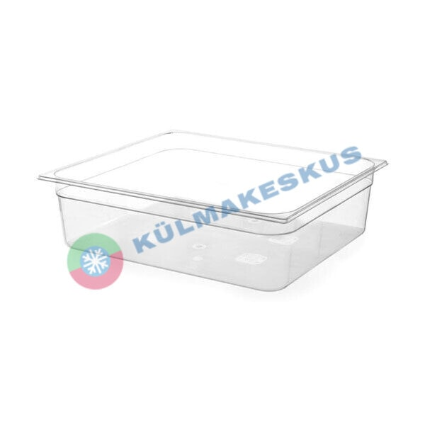 GN 1/1, h 65 mm, läbipaistev polükarbonaat, 861233