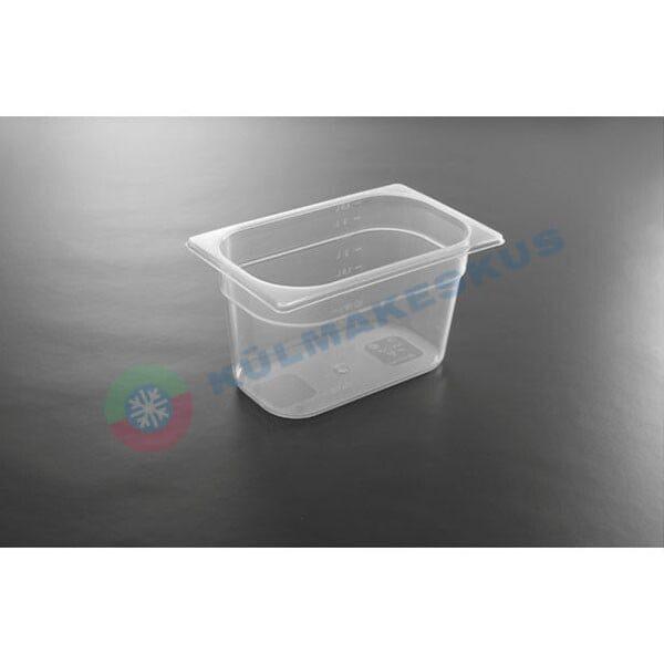 GN 1/4, h 200 mm, polüpropüleen, 880302