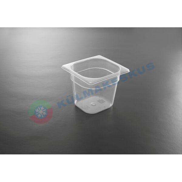GN 1/6, h 100 mm, polüpropüleen, 880425