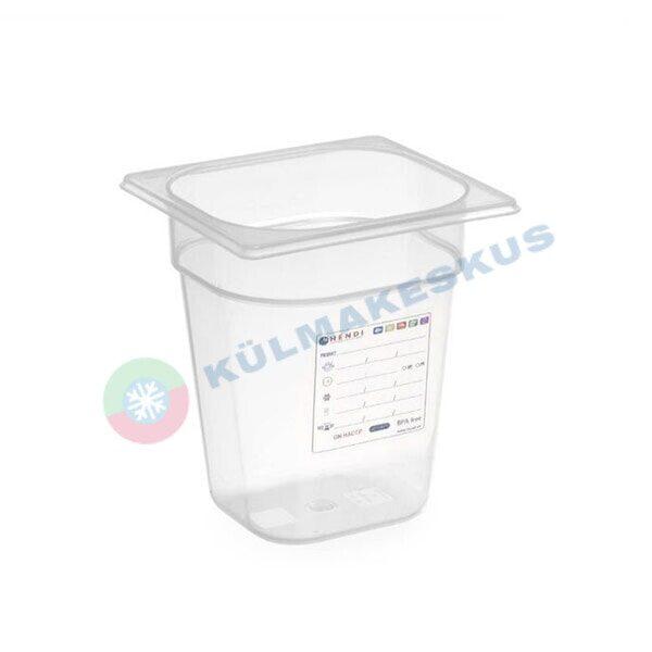 GN 1/6, h 200 mm, HACCP, 880456