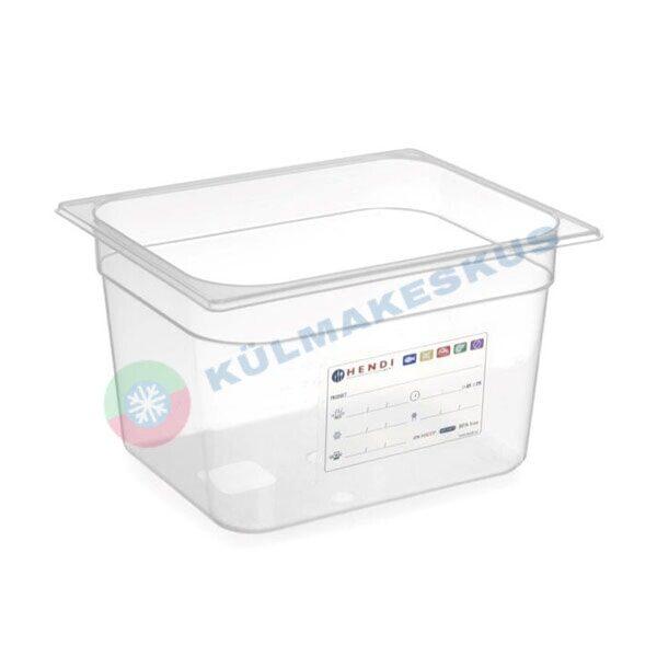 GN 1/2, h 200 mm, HACCP, 880159