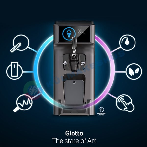 Pehmejäätisemasin Giotto