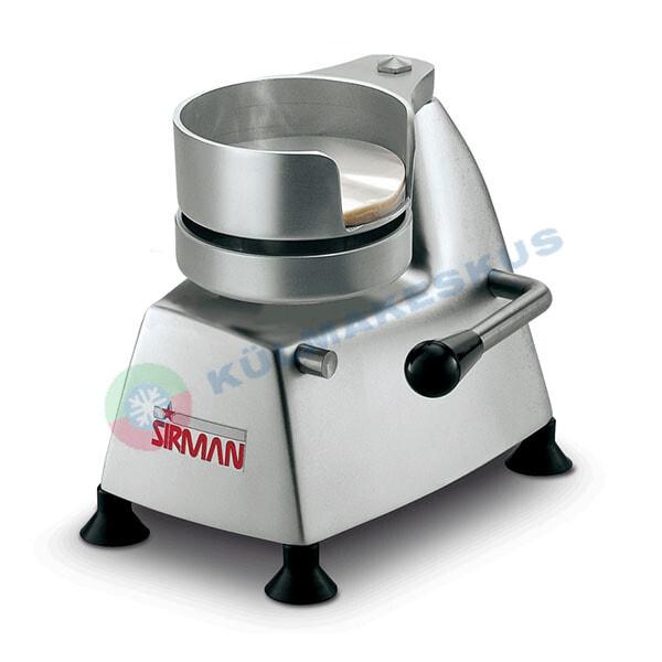 Hamburgeri press Sirman SA 100, 100 mm