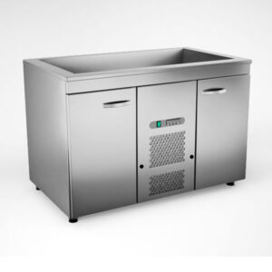 Külmsüvendiga kapp KSK-1220, 1.2 m