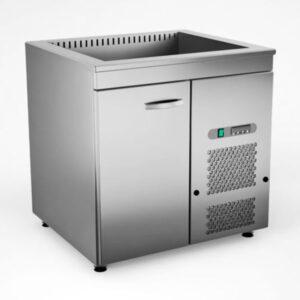 Külmsüvendiga kapp KSK/V-810, 0.8 m