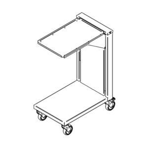 Kandikulift (ratastega) KL, 0.4m