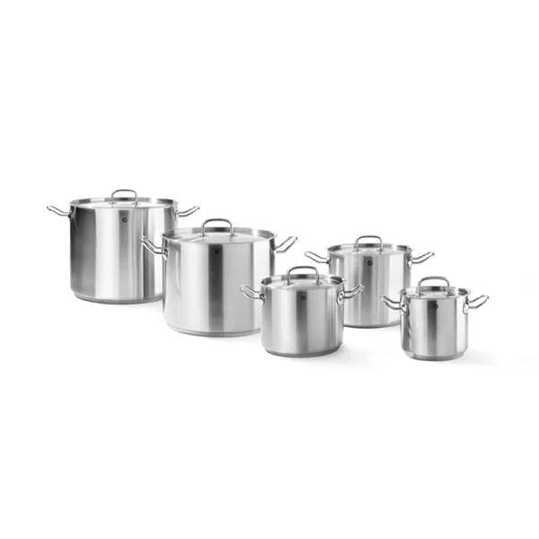 Kitchen Line kõrge pott, kaanega (2.8-98L)