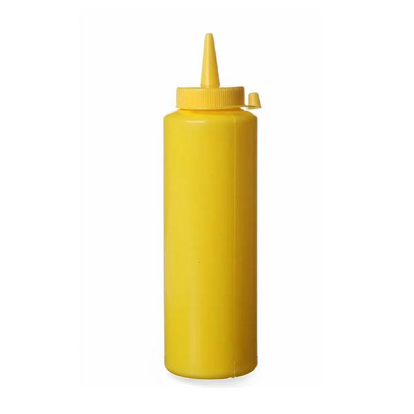 Pudel külmade kastmete jaoks, kollane, 0.35L, 3tk, 557839
